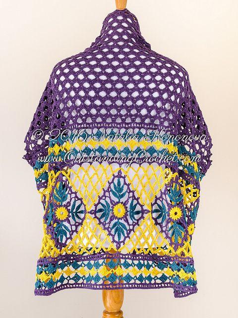 Outstanding Crochet: Crochet Cardigan | Häkeln - Jacken , Westen ...