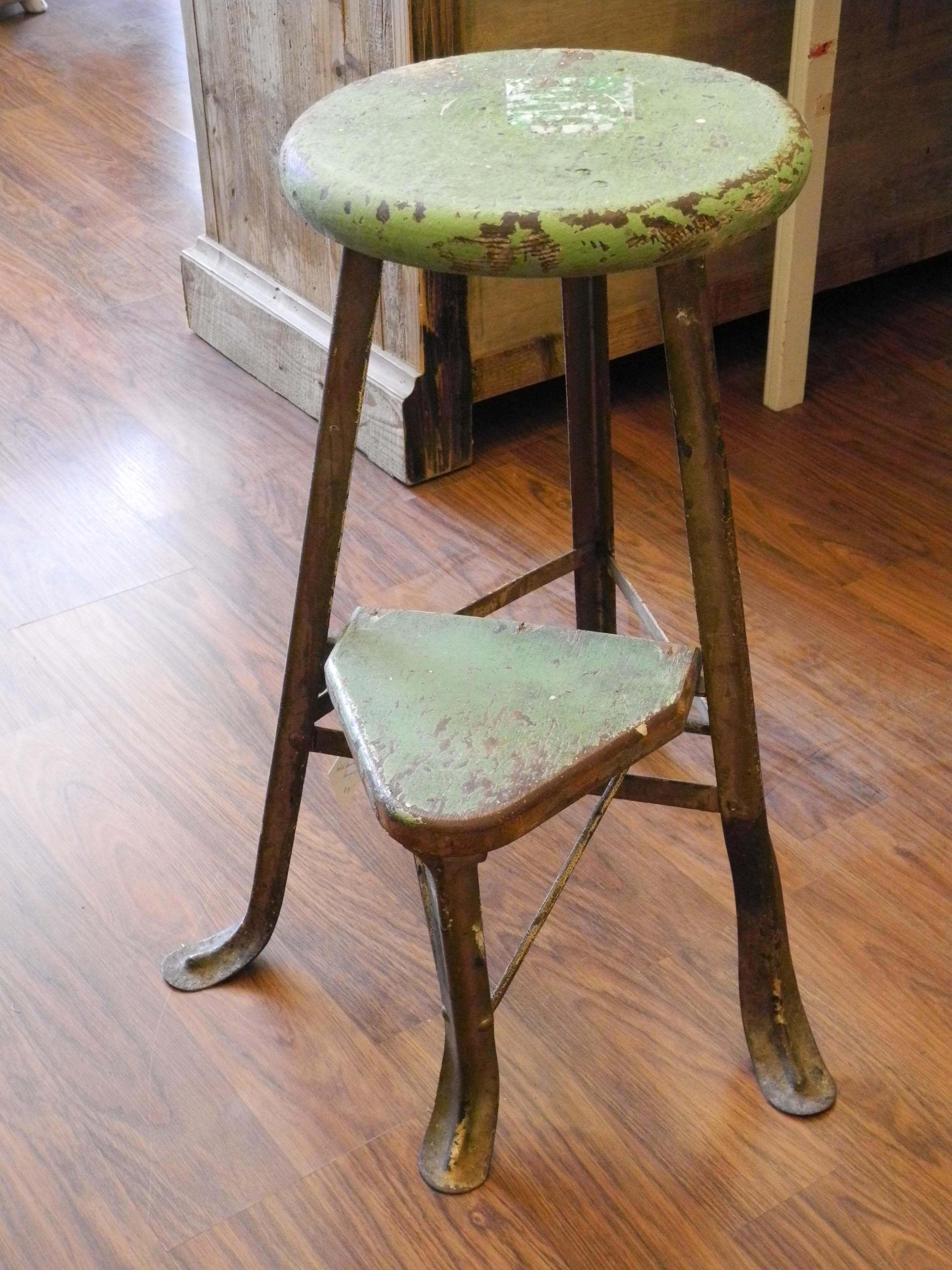 Vintage step stool with fold down step. Want one :) | GREEN ENVY ...