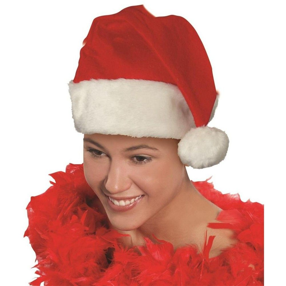 Christmas Shopping Forums 2020 Forum Novelties Deluxe Santa Hat Christmas Costume Accessory One