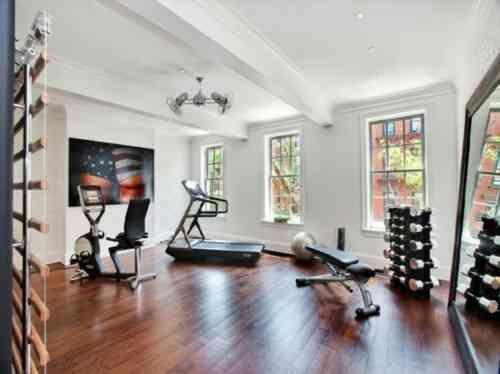la salle de gym maison en 52 idées et exemples pratiques et originales