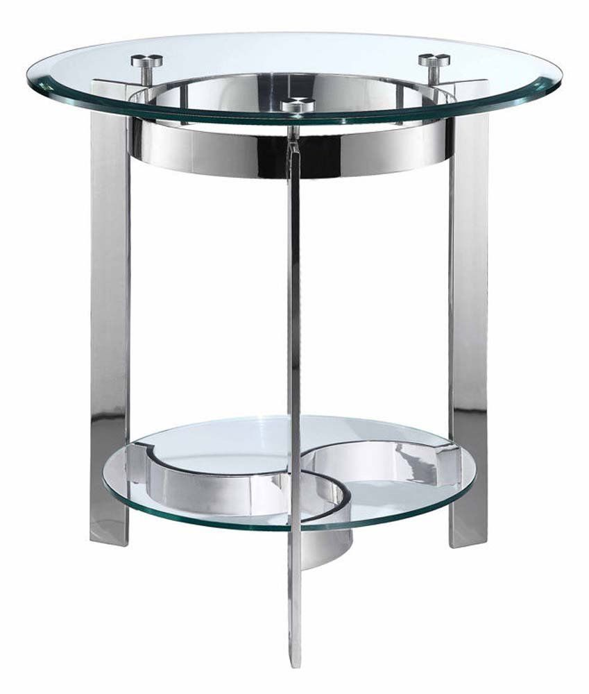 Mercury Round End Table End Tables Glass End Tables Sofa End Tables [ 1000 x 849 Pixel ]