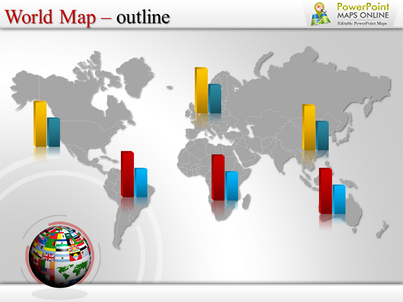 ppt map of the world