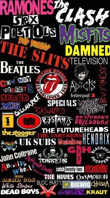 Rock N Roll Music Bands Punk Music Punk Rock Music Bands