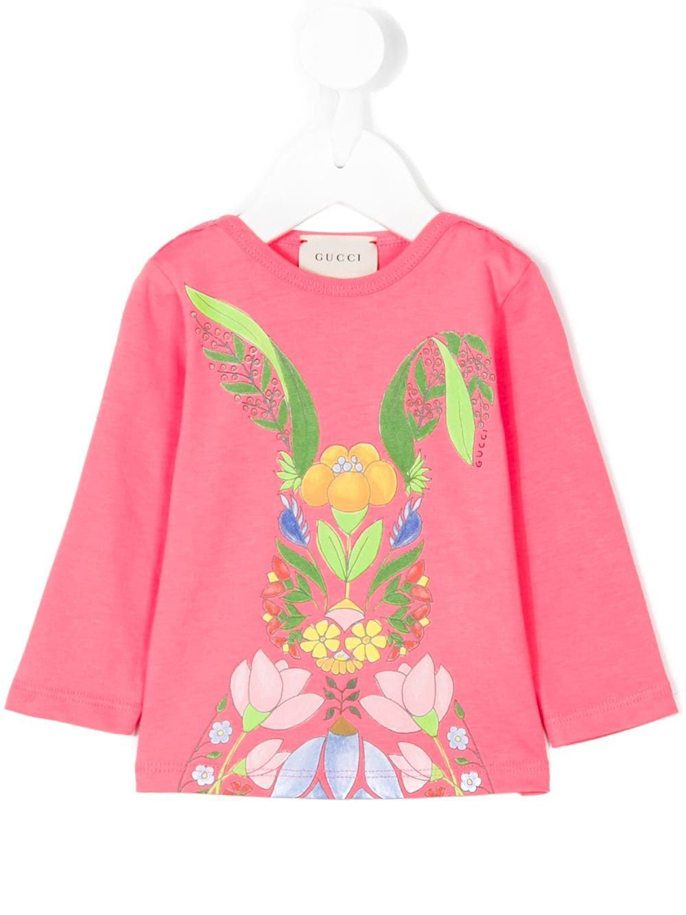 c6bf67246 Gucci Kids printed T-shirt - Pink in 2019 | Products | Gucci kids ...