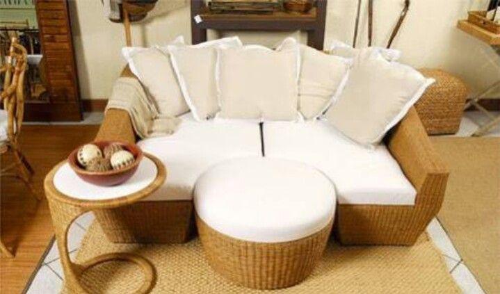 Rattan, Sofas, Selbstgemachte Dekoration, Strand Deko, Modern, Für Zu Hause,  Hof