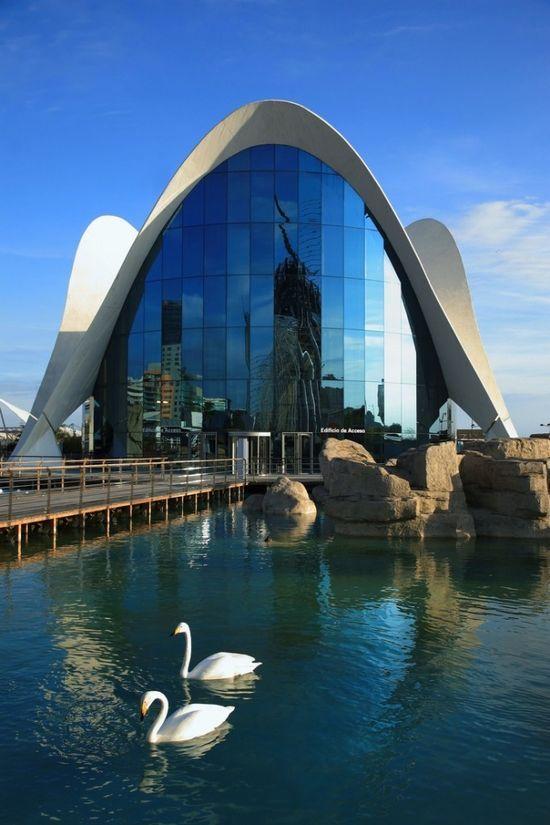 Ciudad de las Artes y las Ciencias, | http://architecturephotocollections.blogspot.com