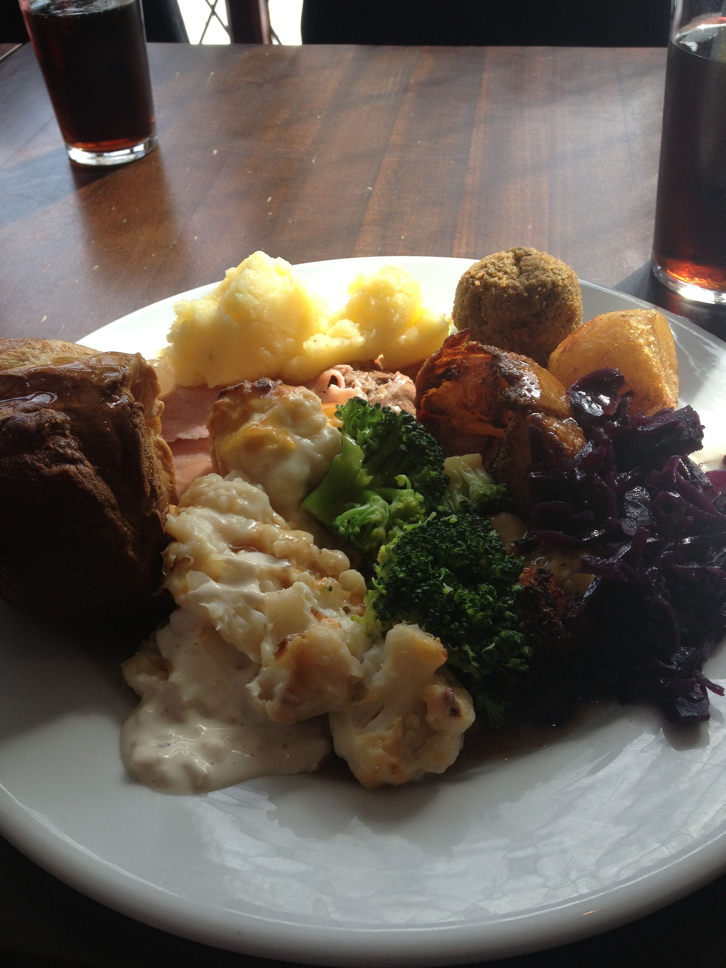 Carvery at The Gate in Clarborough with Nana and Grandad and my immediate family.