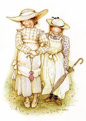 Holly Hobbie - young ladies