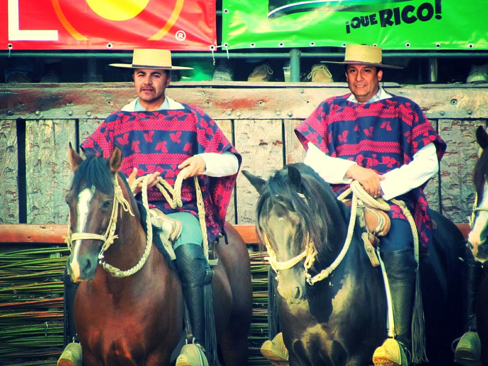 Juan Rojas y Ricardo Gatica, montaje 2011