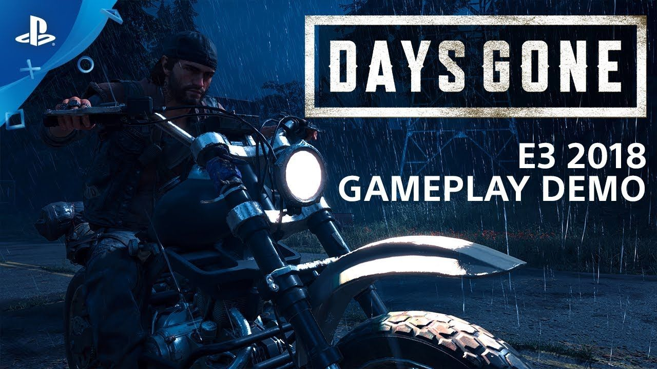 Days Gone E3 2018 Gameplay Demo PlayStation Live from
