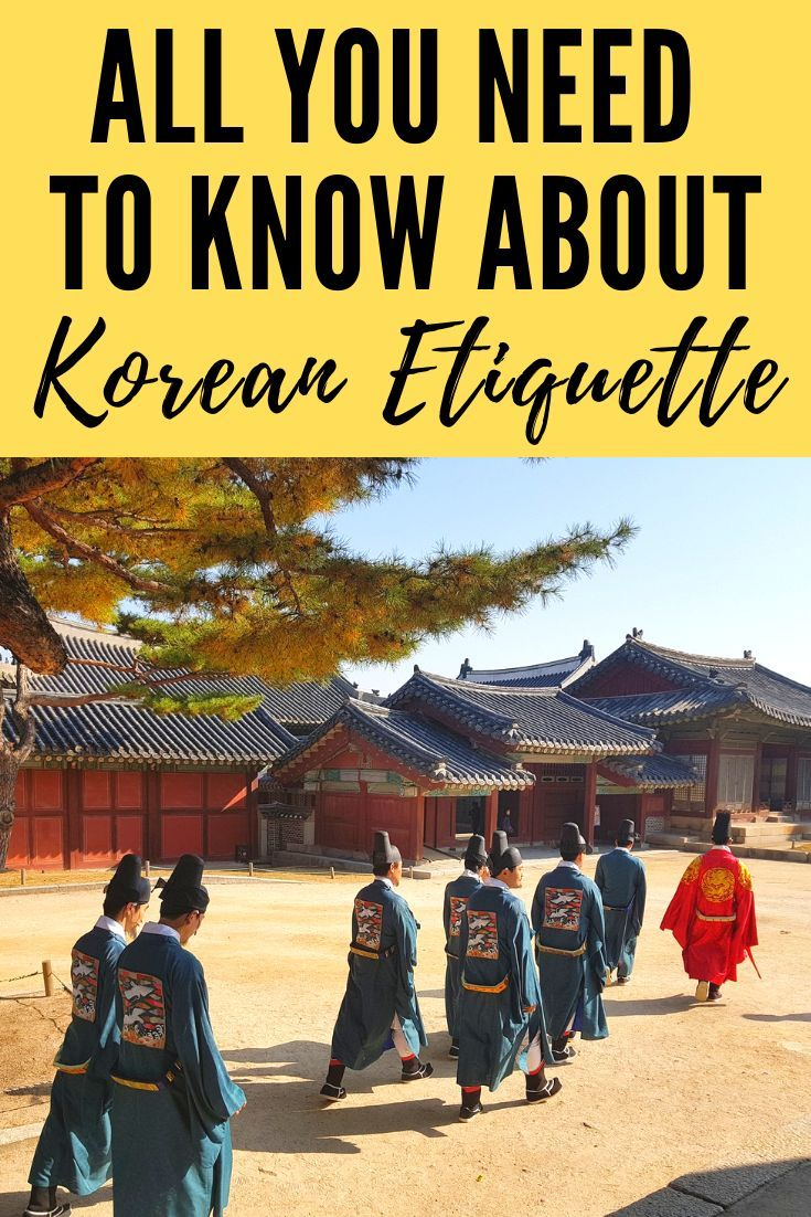 This guide to Korean etiquette will help you impress locals make friends and navigate cultural differences when travelling to South Korea A must read guide to Korean etiq...