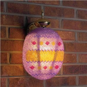 Easter Porch Light Cover From Lillian Vernon Easter Crafts Porch Light Covers April Easter
