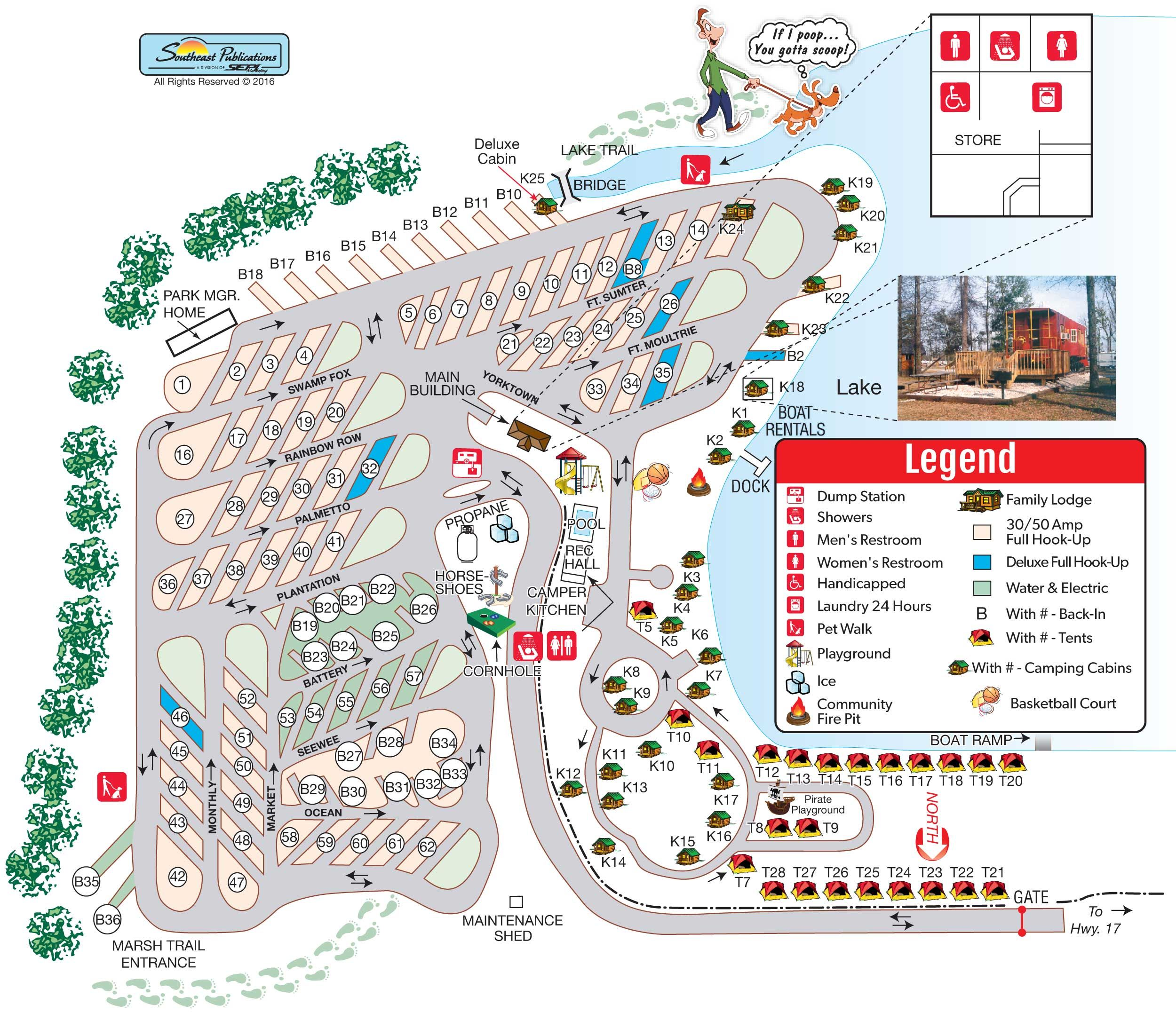 Campground Site Map Campground Maps Pinterest