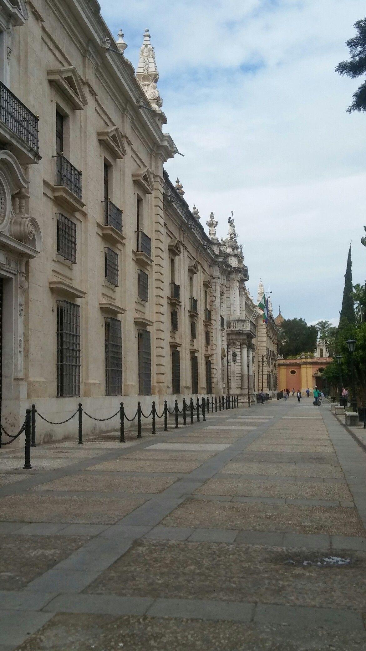 Espléndido perfil de la Universidad de Sevilla