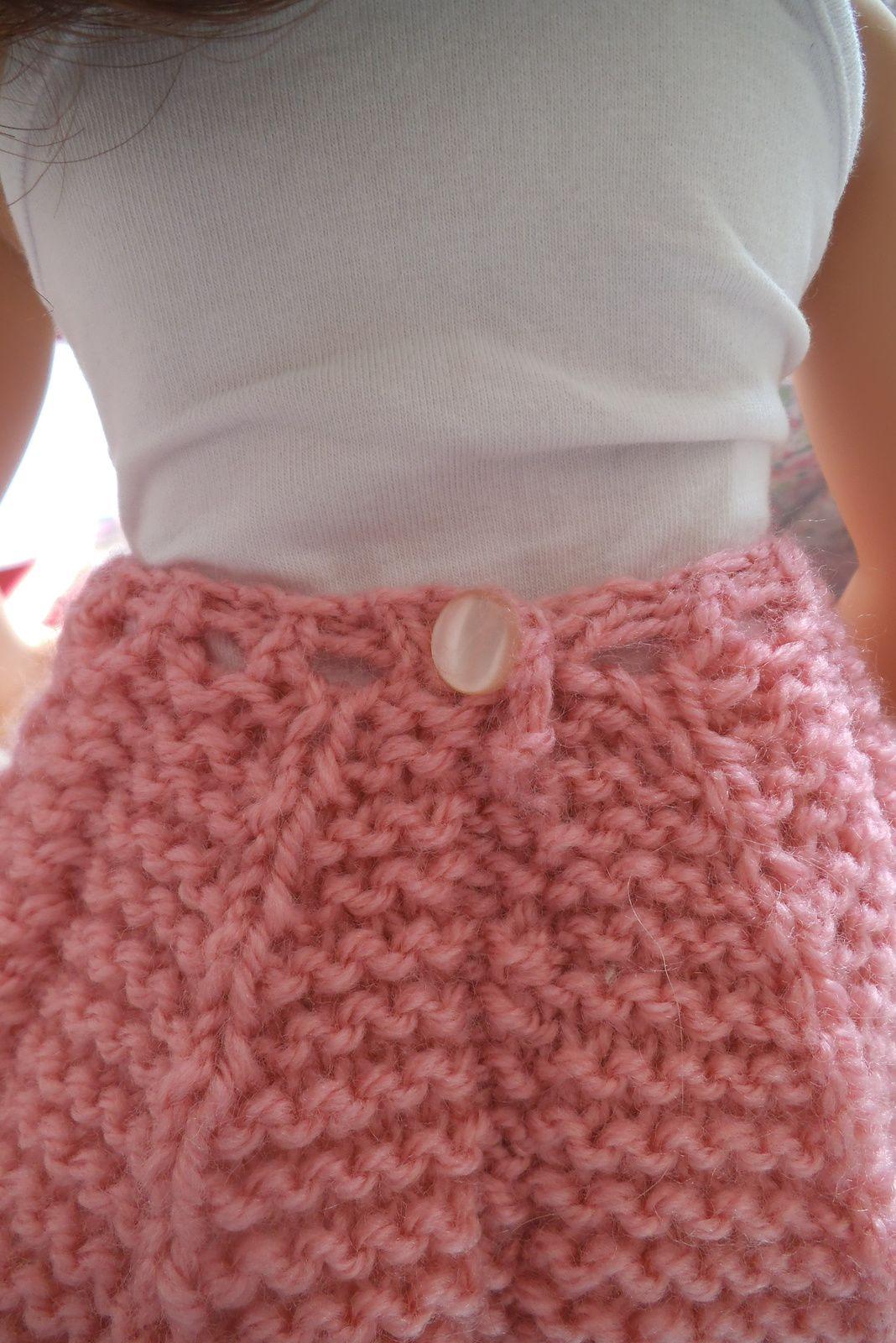 tuto gratuit poupée Maru et grandes poupées: jupe plissé soleil