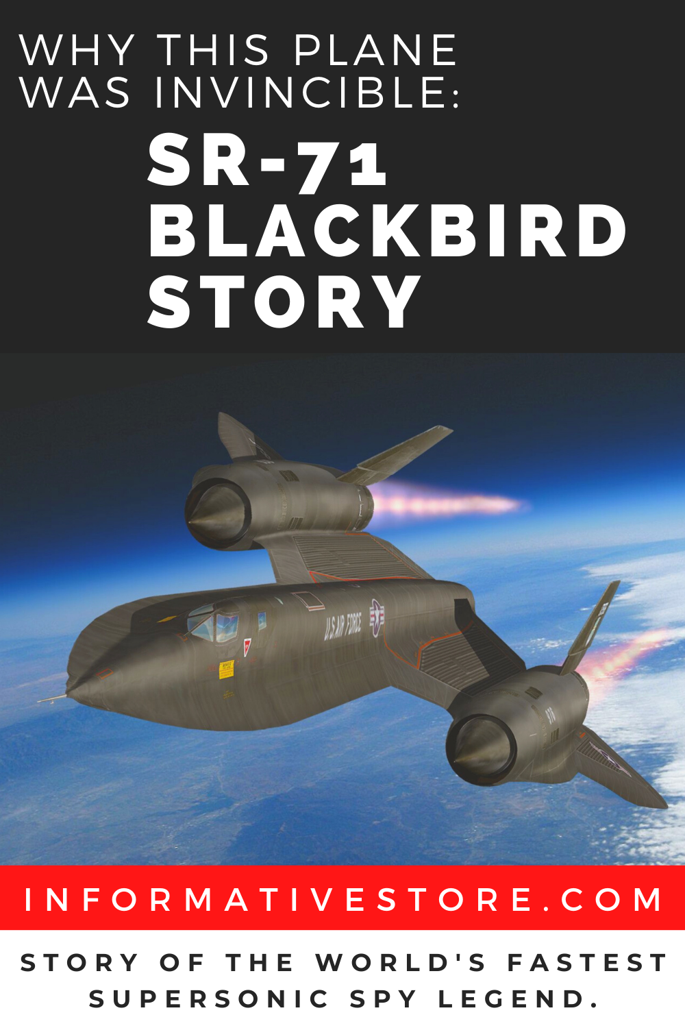 Why This Plane Was Invincible Sr 71 Blackbird Story In 2020 Sr 71 Blackbird Sr 71 Lockheed Sr 71 Blackbird