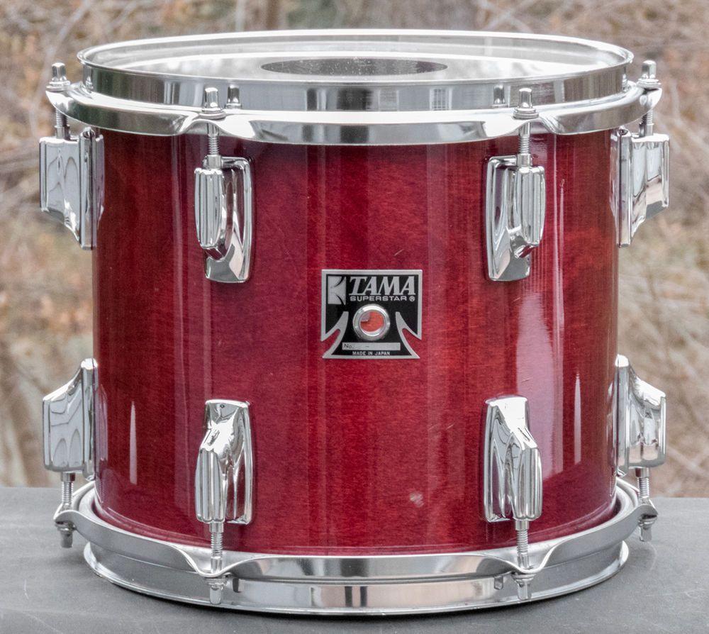 Vintage Tama Superstar 10 X 9 Cherry Wine Tom Drum Early 1980 S Tama Tom Drum Drums Slow Cooker Crock Pot
