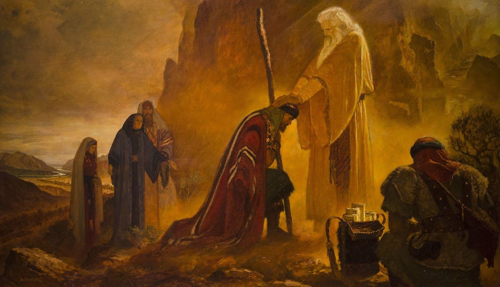 """Résultat de recherche d'images pour """"Arnold Friberg peintures Moïse"""""""