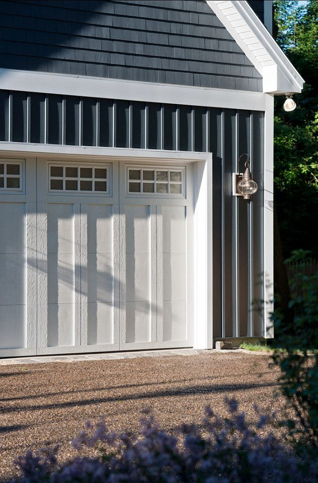 Nice Garage Doors Exterior Paint Color In The Midnight Hour By
