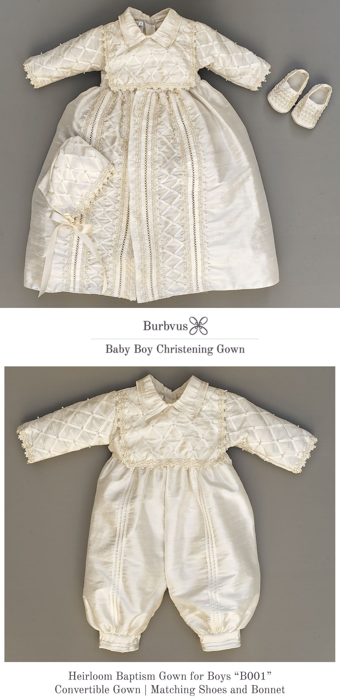 Baby Boy Christening Gown, Spanish Style outfit (ropones para ...