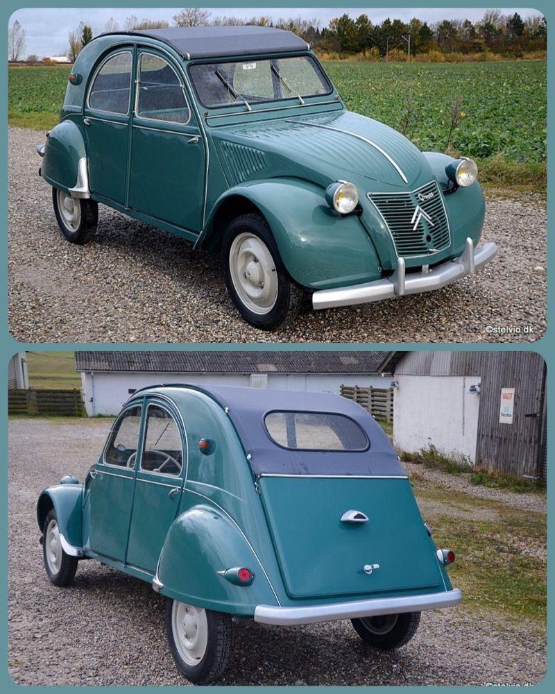 2cv 1955 Eerste Auto Klassieke Auto S Oude Auto S