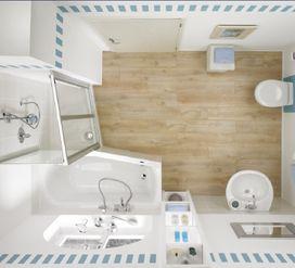 aufteilung, kleines bad | kerstin | pinterest, Badezimmer