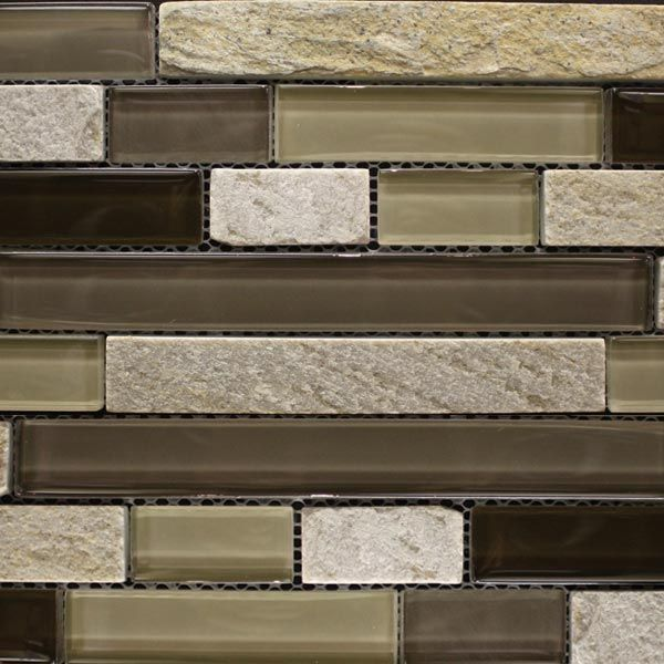 Casa Roma Casgs09m3rl Prairie Chocolate Mix 1 Glass Tile Glass Mosaic Tiles Mosaic Glass