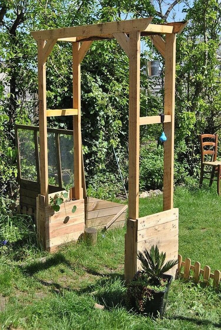 Creative Ideas For Wooden Pallet Recycling Arche Jardin Arche