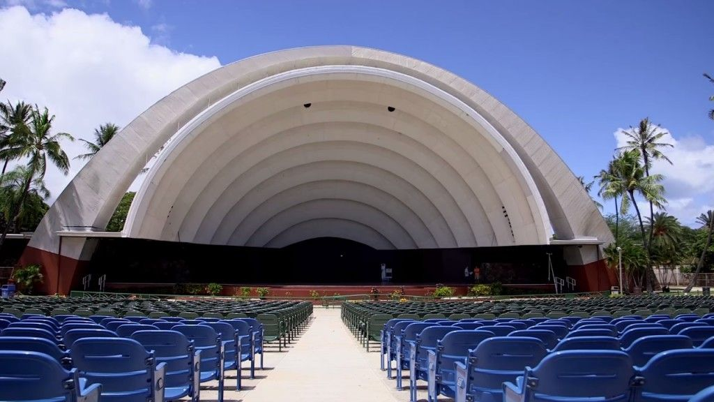 Waikiki Shell Neal S Blaisdell Center With Images Concert Venue Waikiki Music Venue