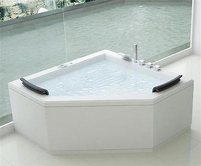 Whirlpool Bellagio Pt1502 Badewanne Spa 2 Personen Massage Jets Pool Eckwanne Einrichten Badewanne Eckwanne Und Badezimmer
