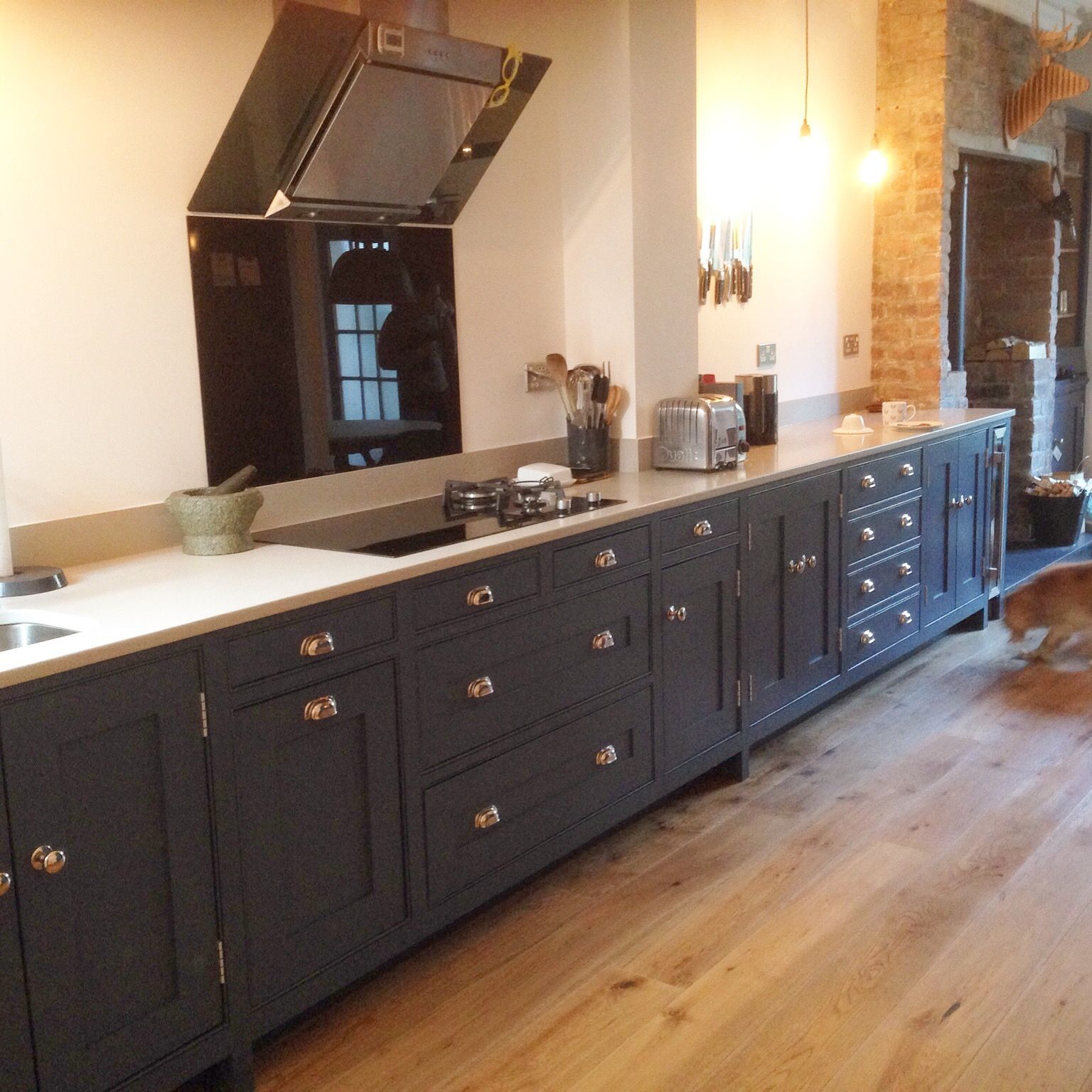 Made and designed by Dunham Fitted Furniture,this kitchen ...
