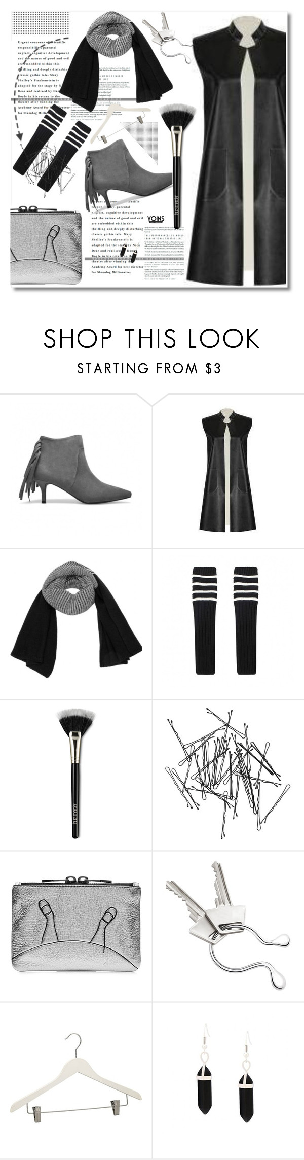 """""""BLACK AND WHITE ALWAYS MY LOVE"""" by yoinscollection ❤ liked on Polyvore featuring Laura Mercier, Monki, Marc by Marc Jacobs, Georg Jensen, Crate and Barrel, women's clothing, women's fashion, women, female and woman"""