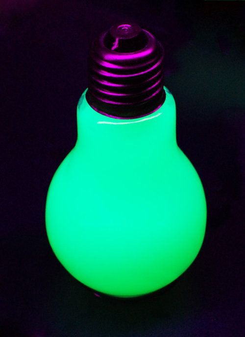 Cool Light Bulbs neon | cool, neon light bulb!!!!! =o - neon colors rock photo