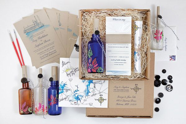 Inspiring Ideas For A Vintage Wedding Box Invitationswedding