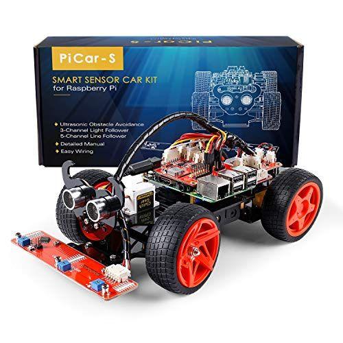 SunFounder Smart Video Car Kit V2 0 for Raspberry Pi 3 Model