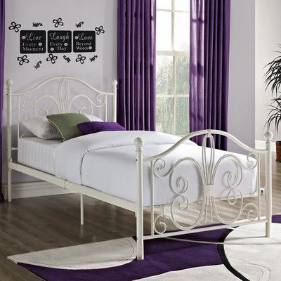 DHP Bombay Metal Bed & Reviews | Wayfair | Home, Sweet Home! | Pinterest