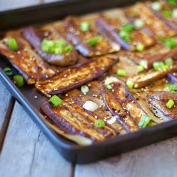Miso glazed roasted eggplant greatest food blogger recipes cuisine forumfinder Choice Image