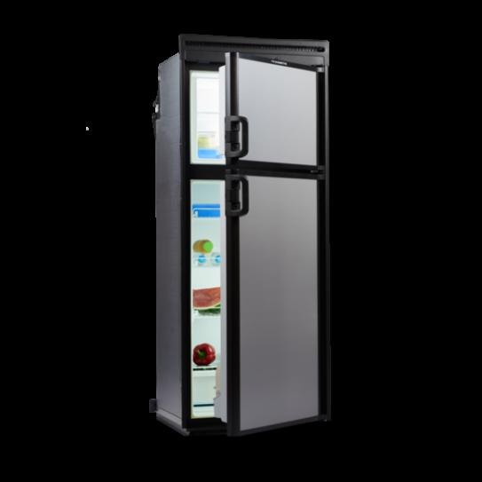 Dometic Waeco Coolmatic 2 Way Fridge Freezer 218l A New And Improved Two Door Compressor Driven Refrigerator Fridge Freezers Upright Fridge Camping Fridge