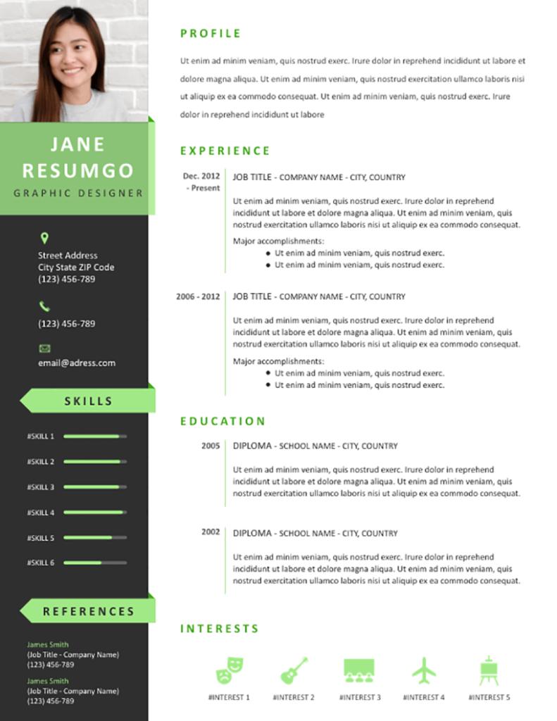 Pelagios Free Resume Template Resumgo Resume Template Free Job Resume Template Free Professional Resume Template