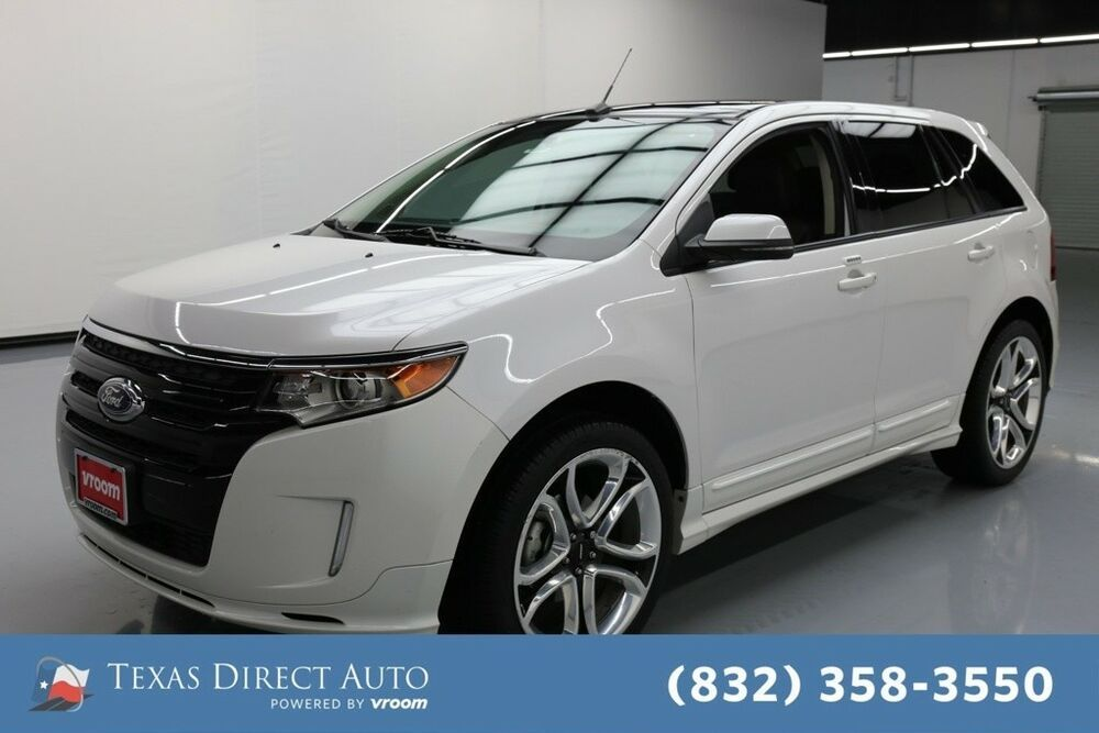 For Sale 2013 Ford Edge Sport Texas Direct Auto 2013 Sport Used 3 7l V6 24v Automatic Fwd Suv Premium Ford Edge Sport Ford Edge