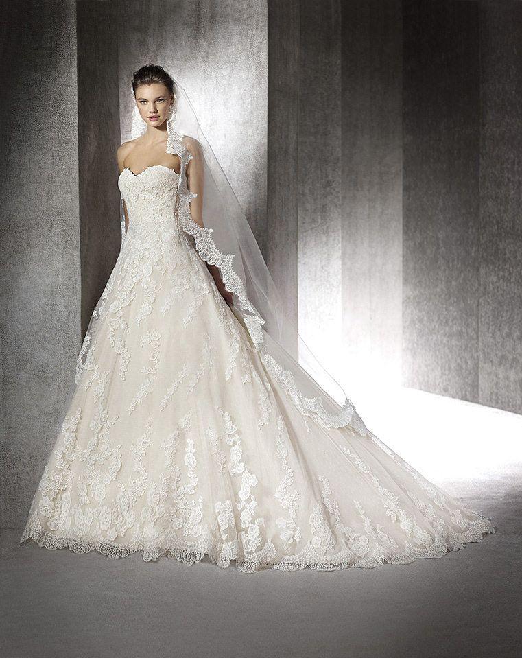 Ein Hochzeitskleid, welches man nicht so schnell wieder vergisst ...