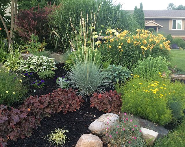 Highlights From An Ontario Garden Finegardening Canadian Garden Ideas Landscaping Around Patio Small Yard Landscaping