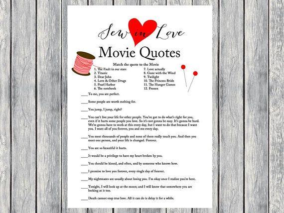 Movie quote game movie quiz famous love quote by magicalprintable movie quote game movie quiz famous love quote by magicalprintable stopboris Choice Image