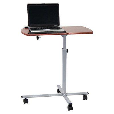 Flash Furniture NAN-JN-2762-GG Adjustable Mobile Laptop Computer Table