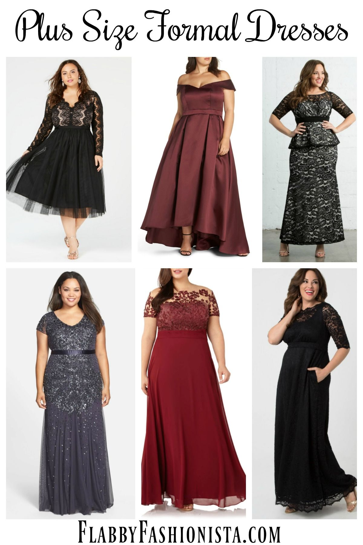 Finding plus size formal dresses that fit and flatter can be