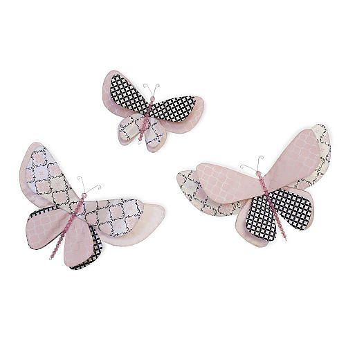 Lambs & Ivy Duchess Butterfly Wall Decor | Nursery ideas | Pinterest ...