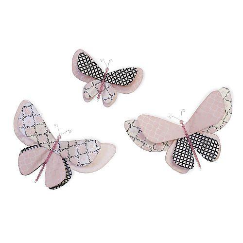 Lambs & Ivy Duchess Butterfly Wall Decor | Makayla | Pinterest ...