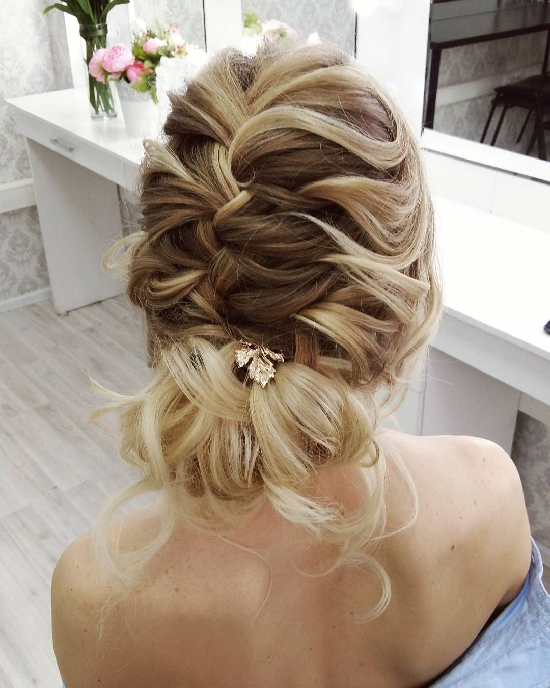 Elegant Wedding Hairstyle Idea: Pin By Julia Rehm On Wedding Hair