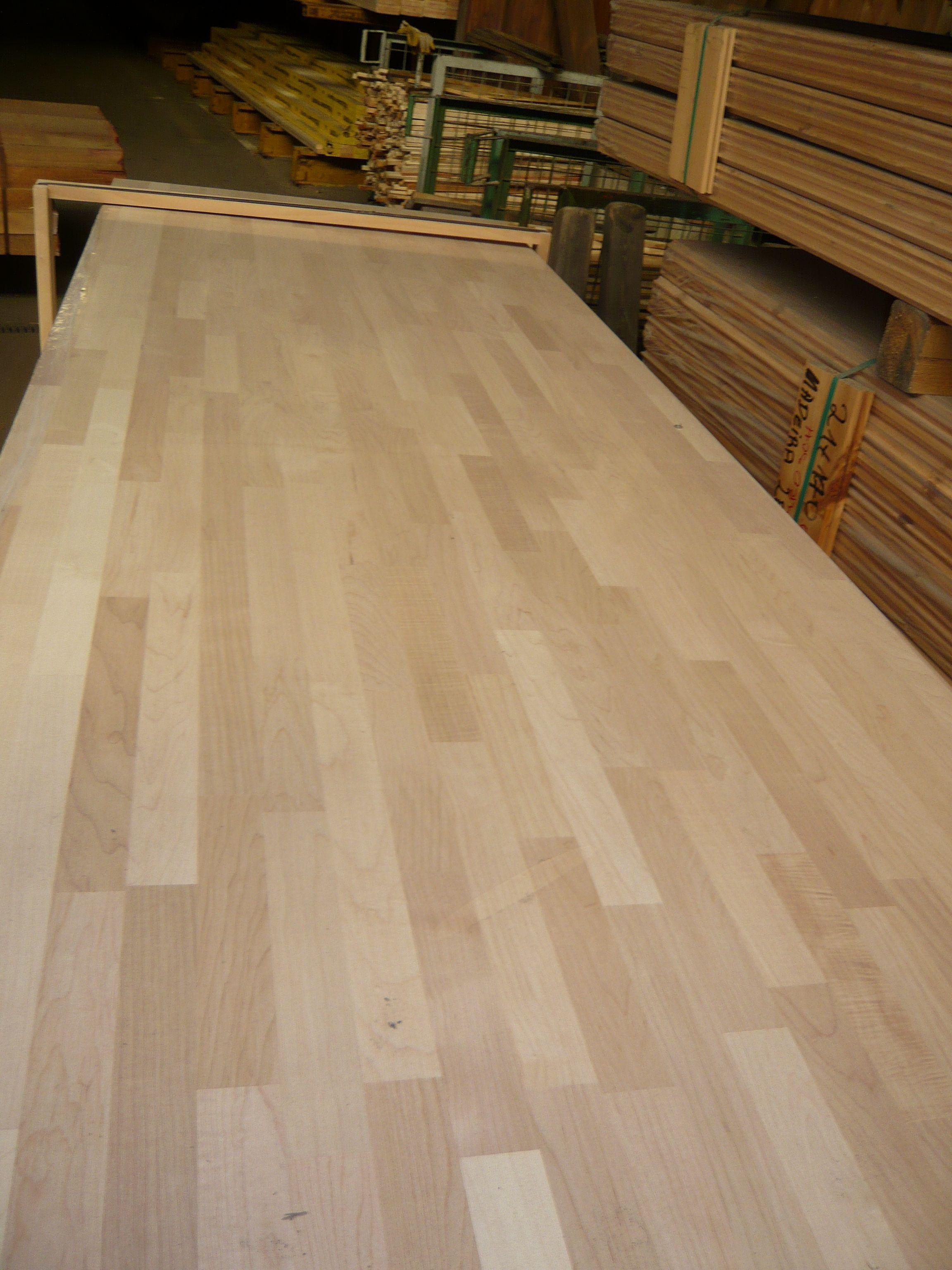 Leimholzplatte Ahorn Holz Massiv Arbeitsplatte