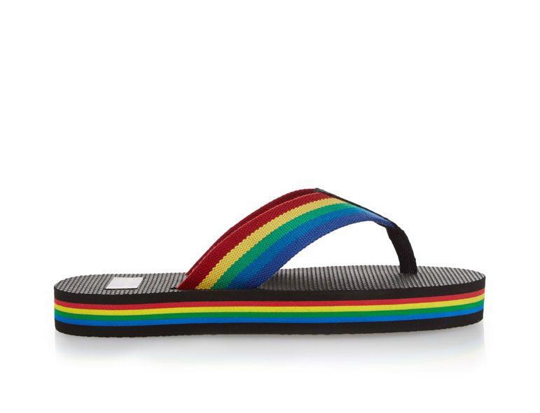 Splurge Fridays: Saint Laurent Rainbow Flip Flops  #BestFashionBlog #Lifestyle #Fashion  - #beauty #makeup #hair #nails - http://goo.gl/P2N0BG